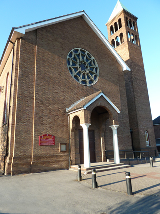 All Saints RC Church in Sale