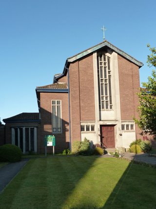 Our Lady of Lourdes RC Church in Partington