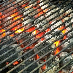 BBQ embers