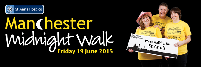 Manchester Midnight Walk 2015