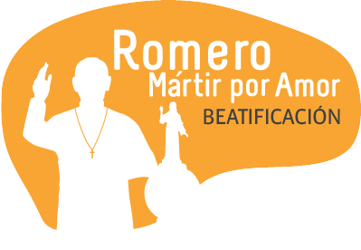 Oscar Romero Beatification site logo