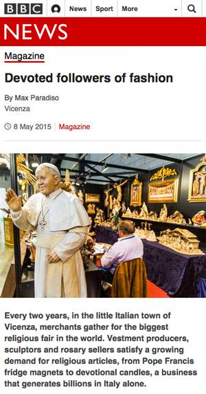 Vicenza religious fair