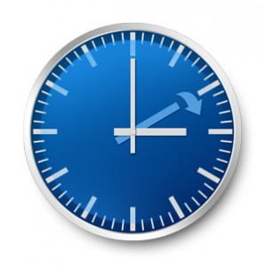 Don't forget to change your clocks!
