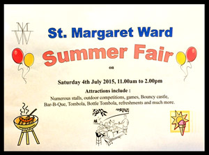 St Margaret Ward Summer Fair 2015