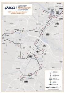 Manchester Marathon Route 2016