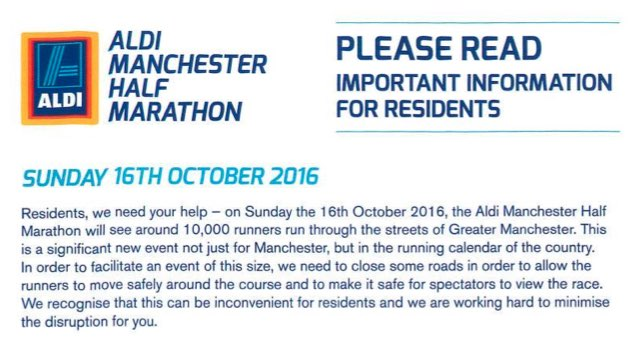 Manchester Half Marathon 2016